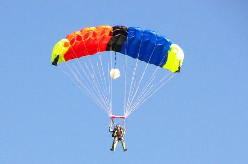 activité evjf à sensation - saut en parachute à toulouse