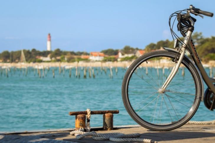 activités evjf arcachon - balade en vélo