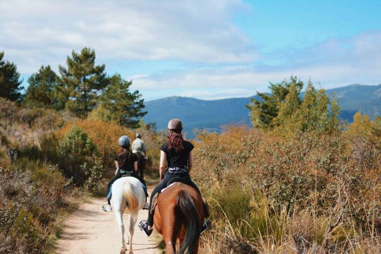 activités evjf madrid - balade à cheval