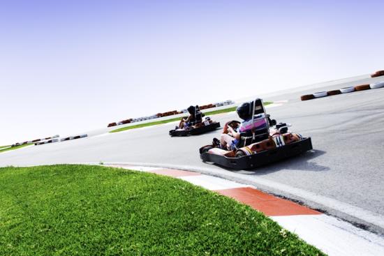 evjf à bruxelles - activité karting