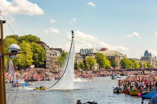 evjf amsterdam - flyboard à amsterdam