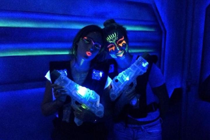 evjf arcachon - lasergame arcachon