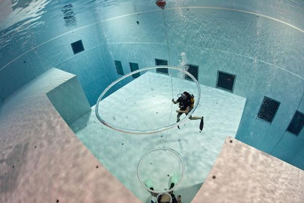 evjf bruxelles - séance plongée sous marine