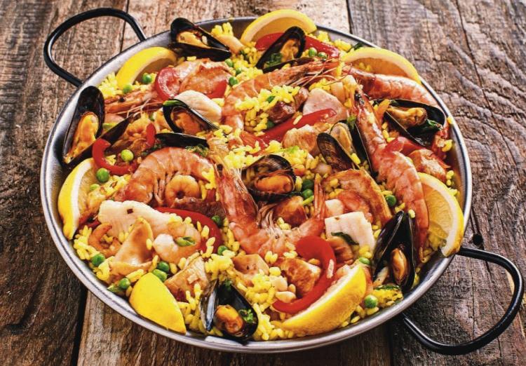 evjf madrid - atelier paella