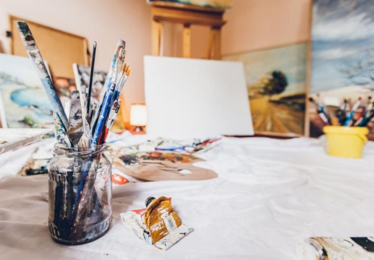evjf madrid - atelier peinture
