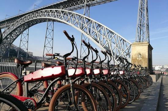 evjf porto - balade à vélo