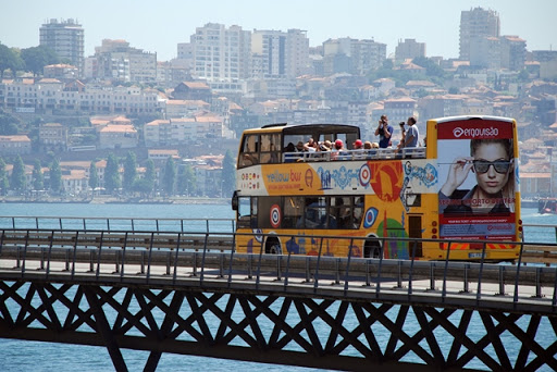 evjf porto - balade en bus