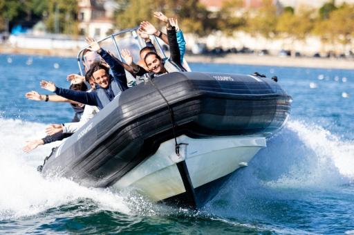 idées activités evjf porto - speed boat