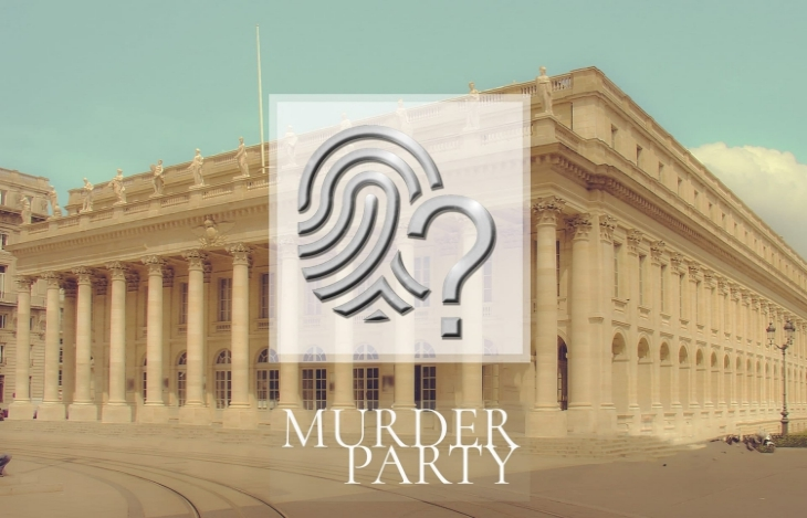 idées evjf Bordeaux - Murder party Bordeaux