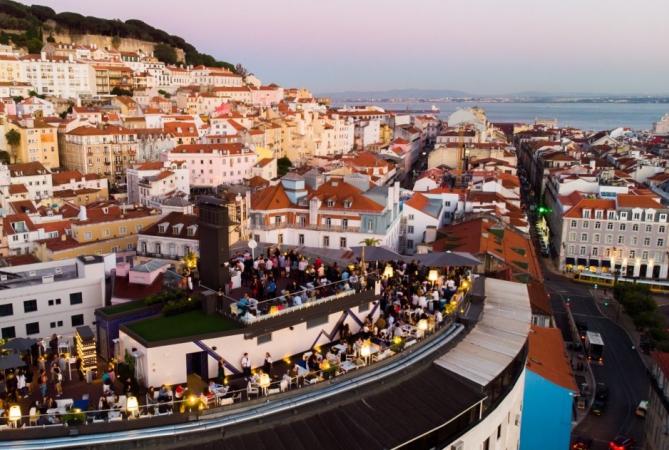 idées evjf à lisbonne - rooftop lisbonne