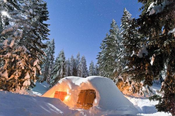 idées evjf annecy - nuit dans un igloo annecy