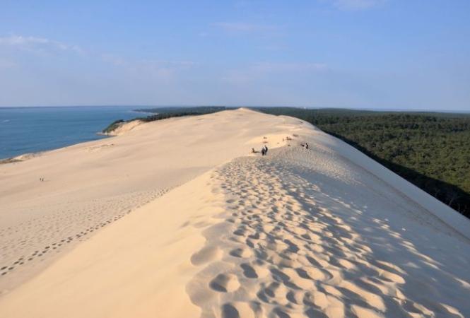 idées evjf arcachon - se poser sur la dune du pilat