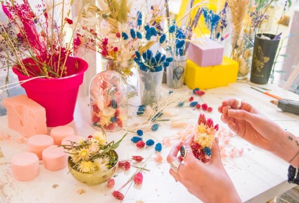 idées evjf la rochelle - atelier floral la rochelle