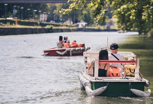 idées evjf lille - balade en bateau moteur à lille