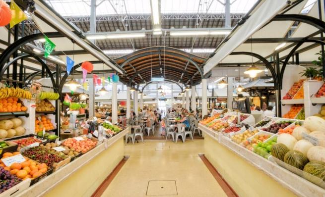 idées evjf lisbonne - marché couvert lisbonne