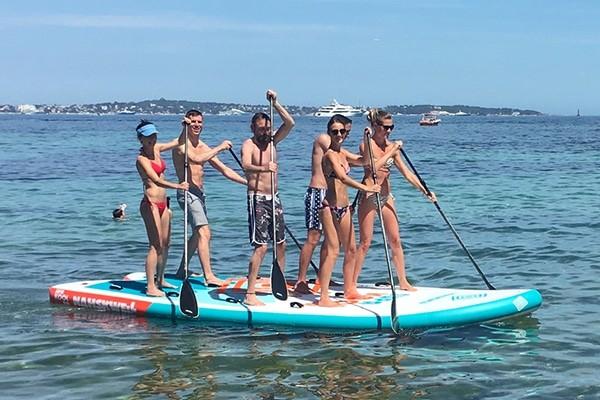idées evjf lisbonne - paddle géant lisbonne