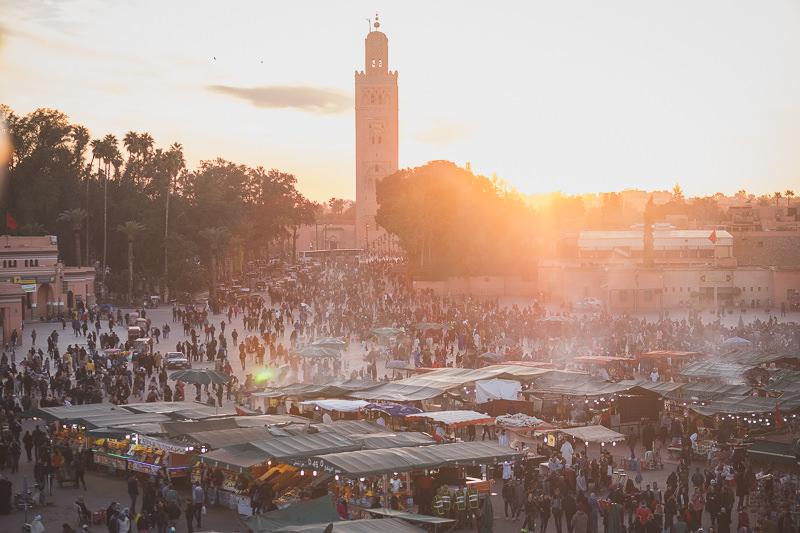 idées evjf marrakech -. découvrir les rues de marrakech