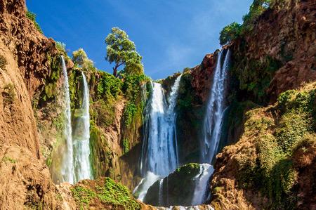 idées evjf marrakech - aller voir les cascades ouzoud marrakech