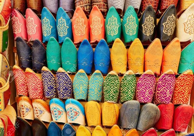idées evjf marrakech - atelier babouches marrakech