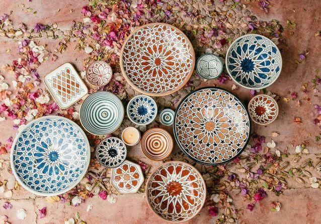 idées evjf marrakech - création céramiques marrakech