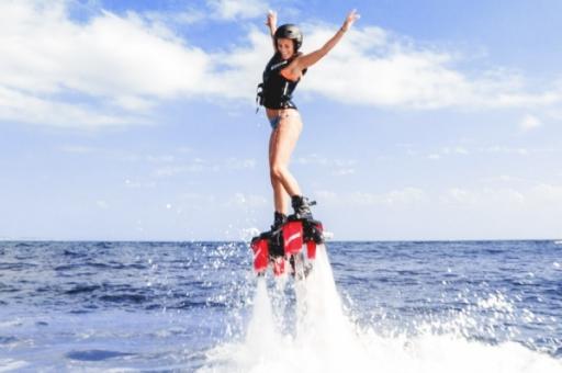 idées evjf montpellier - flyboard montpellier