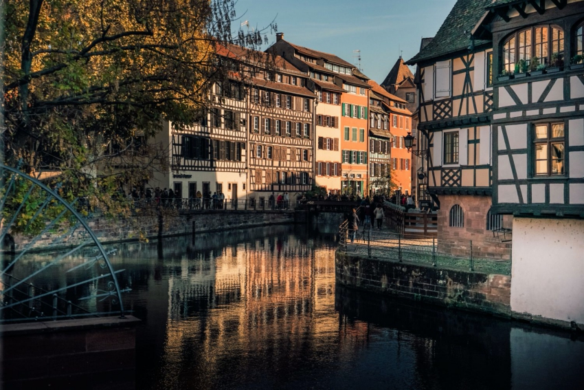 architecture strasbourg et son canal